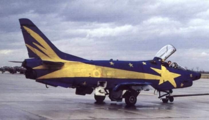 """2 - Fiat G91Y """"Cometa di Natale"""" - Dicembre 1983 - Gennaio 1984 - 8° Stormo - 101° Gruppo CBR – Cervia"""
