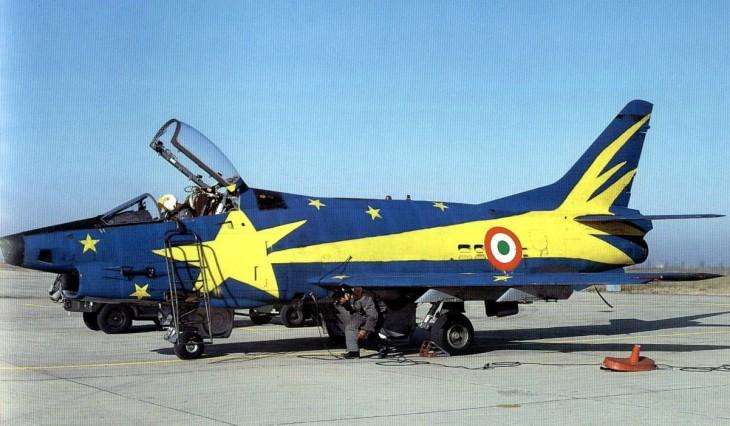 """3 - Fiat G91Y """"Cometa di Natale"""" - Dicembre 1983 - Gennaio 1984 - 8° Stormo - 101° Gruppo CBR – Cervia"""