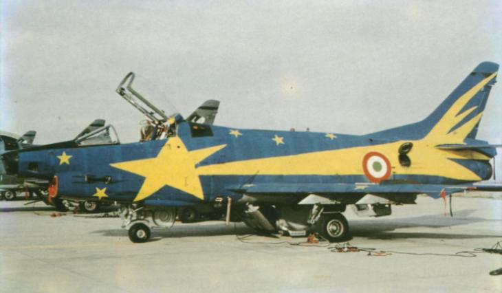 """4 - Fiat G91Y """"Cometa di Natale"""" - Dicembre 1983 - Gennaio 1984 - 8° Stormo - 101° Gruppo CBR – Cervia"""