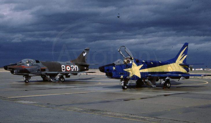 """5 - Fiat G91Y """"Cometa di Natale"""" - Dicembre 1983 - Gennaio 1984 - 8° Stormo - 101° Gruppo CBR – Cervia"""