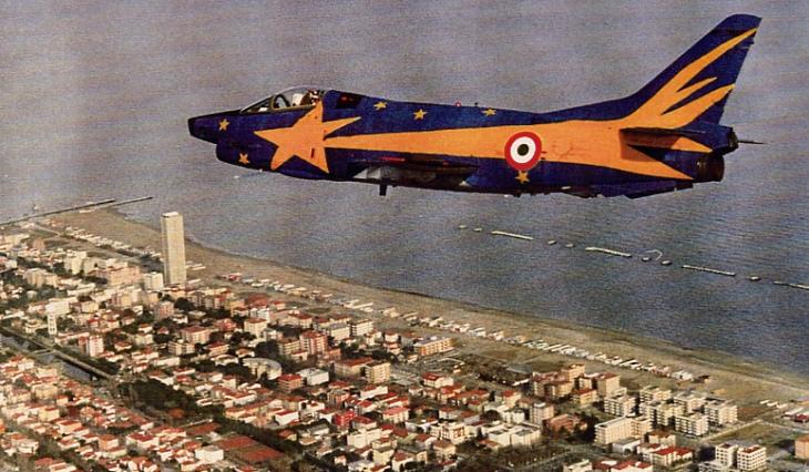 """6 - Fiat G91Y """"Cometa di Natale"""" - Dicembre 1983 - Gennaio 1984 - 8° Stormo - 101° Gruppo CBR – Cervia"""