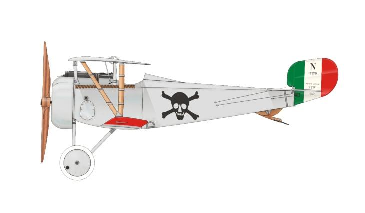 Nieuport Ni.17 - Fulco Ruffo di Calabria