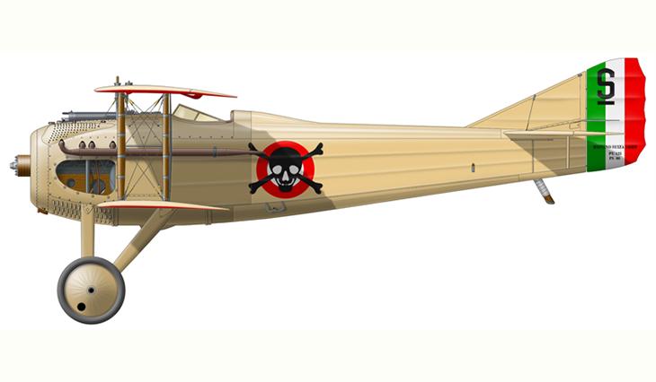 SPAD S.VII - Fulco Ruffo di Calabria