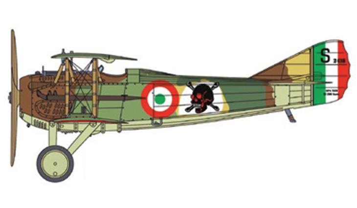 SPAD S.XIII - Fulco Ruffo di Calabria