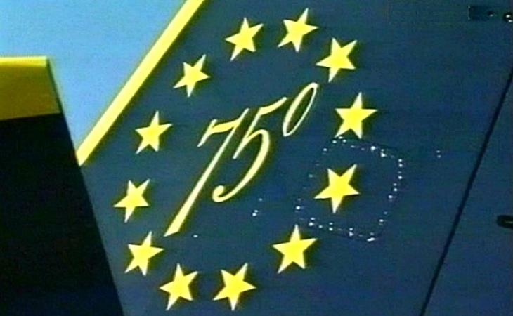 8 - Fiat G.91T/1 - 75 anni Aeronautica Militare Italiana - 1998 - Lungomare di Bari