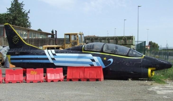 12 - Fiat G.91T/1 - 75 anni Aeronautica Militare Italiana - Presso un demolitore di Roma