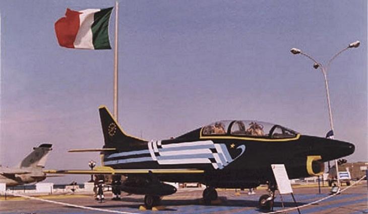 2 - Fiat G.91T/1 - 75 anni Aeronautica Militare Italiana - 1998 - Lungomare di Bari