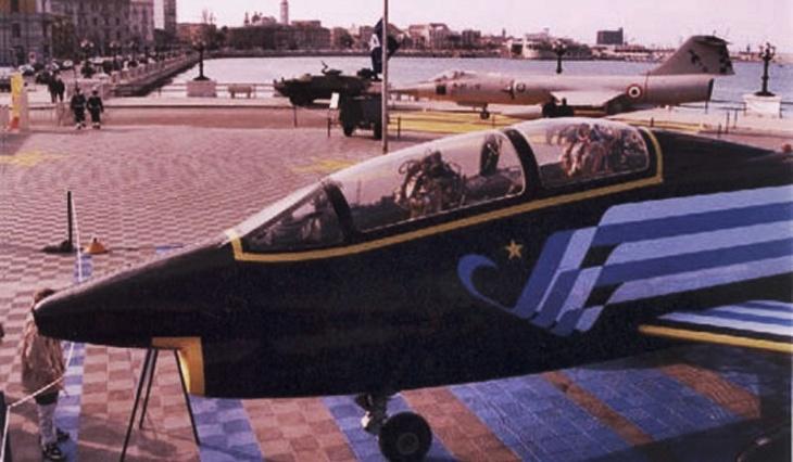 4 - Fiat G.91T/1 - 75 anni Aeronautica Militare Italiana - 1998 - Lungomare di Bari