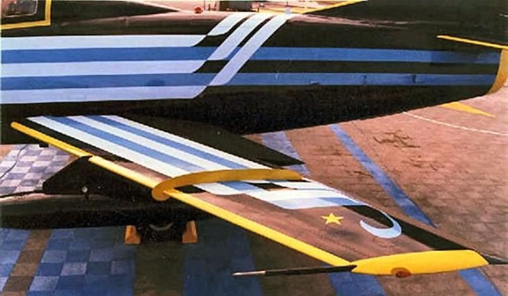 6 - Fiat G.91T/1 - 75 anni Aeronautica Militare Italiana - 1998 - Lungomare di Bari