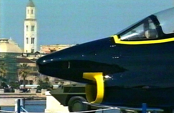 7 - Fiat G.91T/1 - 75 anni Aeronautica Militare Italiana - 1998 - Lungomare di Bari