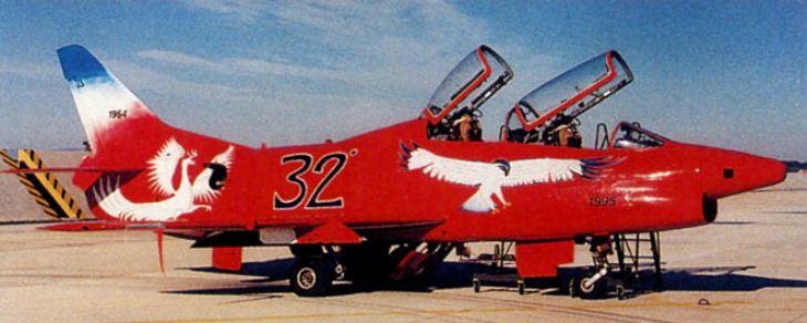 6 - Fiat G.91T/1 - 60^ Brigata Aerea - 204° Gruppo - Ultimo volo - 30 settembre 1995 - Amendola