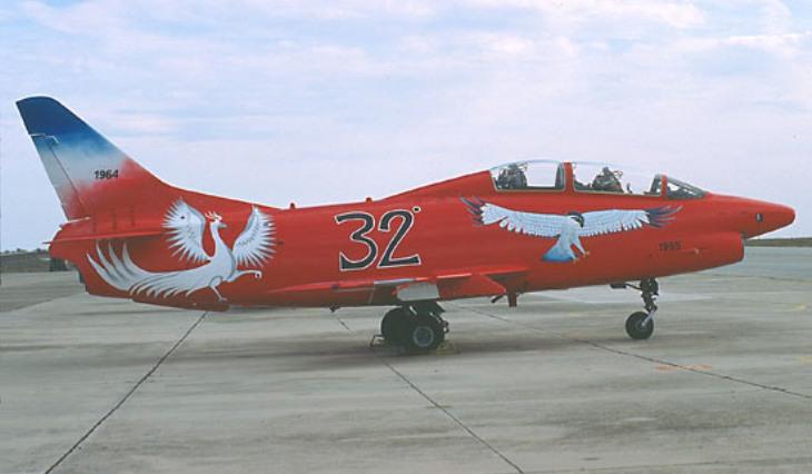 8 - Fiat G.91T/1 - 60^ Brigata Aerea - 204° Gruppo - Ultimo volo - 30 settembre 1995 - Amendola