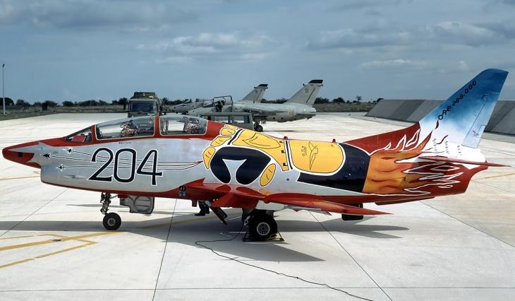 3 - Fiat G.91T/1 - 60^ Brigata Aerea - 204° Gruppo - Ultimo volo - 30 settembre 1995 - Amendola