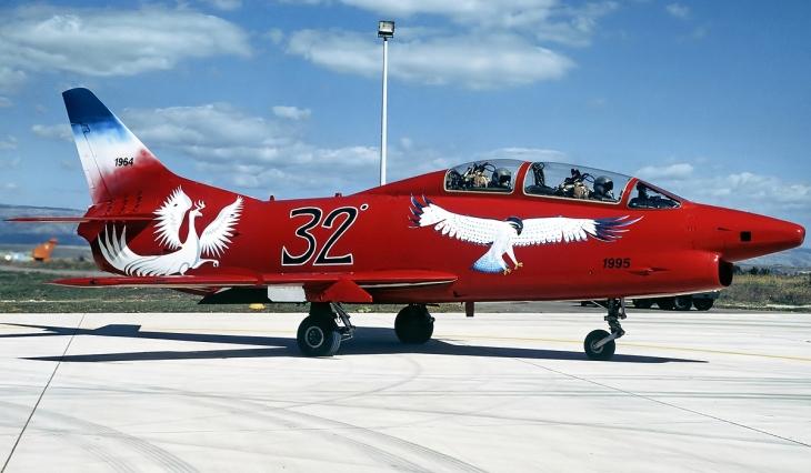 4 - Fiat G.91T/1 - 60^ Brigata Aerea - 204° Gruppo - Ultimo volo - 30 settembre 1995 - Amendola