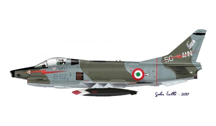 1 - Fiat G.91Y - 8° Stormo - 101° Gruppo CBR – 50 anni del 101° Gruppo CBR - marzo 1991 - Cervia