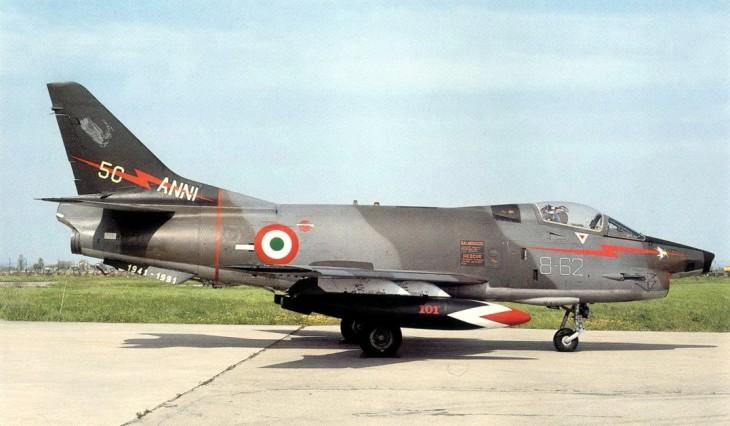 2 - Fiat G.91Y - 8° Stormo - 101° Gruppo CBR – 50 anni del 101° Gruppo CBR - marzo 1991 - Cervia