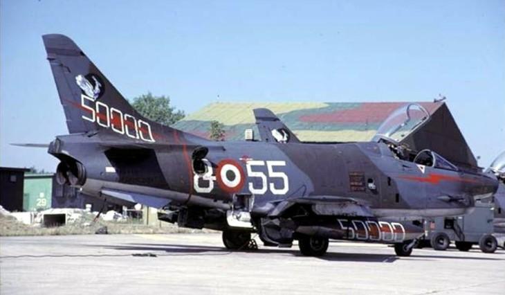 3 - G.91Y - 8° Stormo - 101° Gruppo CBR - 50000 ore - 1984