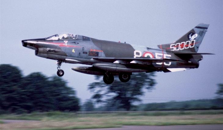 4 - G.91Y - 8° Stormo - 101° Gruppo CBR - 50000 ore - 1984