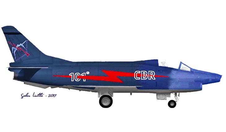 1 - Fiat G91Y - 8° Stormo - 101° Gruppo - Ultimo Volo Operativo - 25 novembre 1994