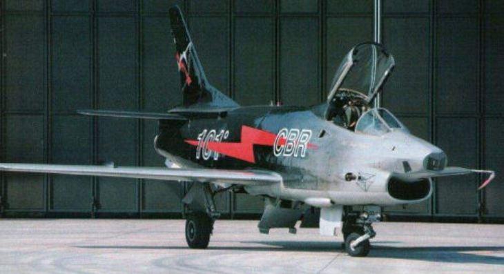6 - Fiat G91Y - 8° Stormo - 101° Gruppo - Ultimo Volo Operativo - 25 novembre 1994