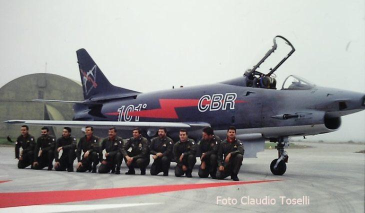 13 - Fiat G91Y - 8° Stormo - 101° Gruppo - Ultimo Volo Operativo - 25 novembre 1994