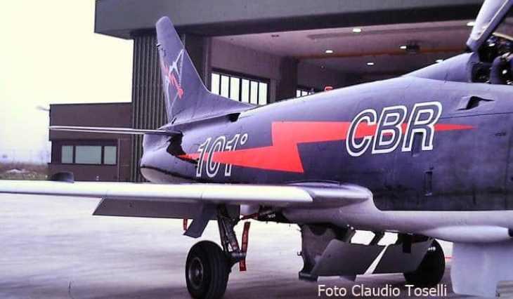 14 - Fiat G91Y - 8° Stormo - 101° Gruppo - Ultimo Volo Operativo - 25 novembre 1994