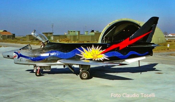 11 - Fiat G91Y - 8° Stormo - 101° Gruppo - Ultimo Volo Operativo - 25 novembre 1994