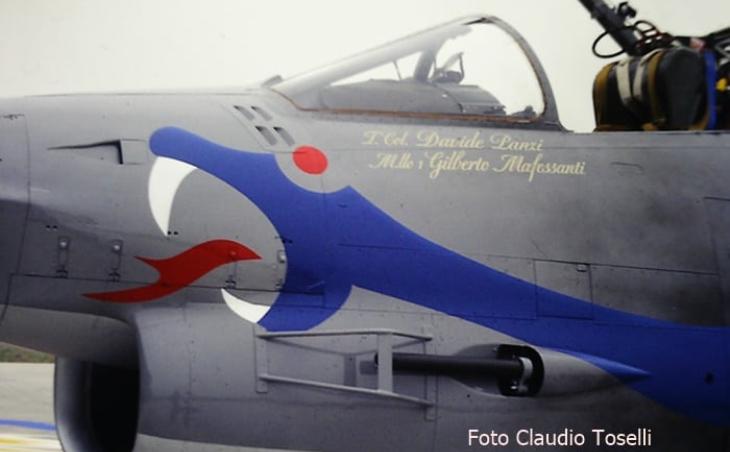 10 - Fiat G91Y - 8° Stormo - 101° Gruppo - Ultimo Volo Operativo - 25 novembre 1994