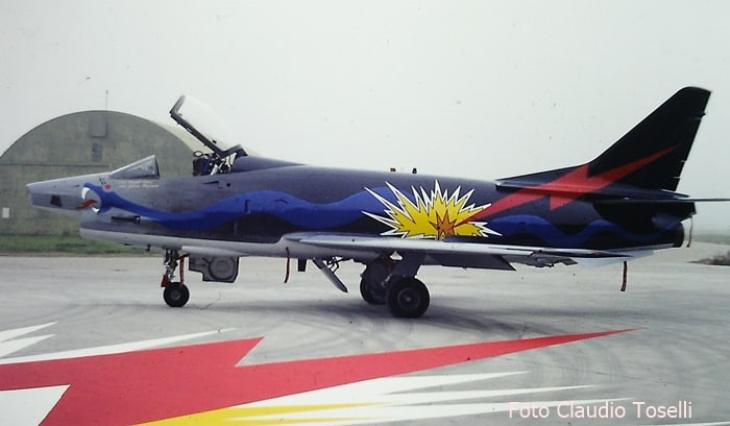 9 - Fiat G91Y - 8° Stormo - 101° Gruppo - Ultimo Volo Operativo - 25 novembre 1994