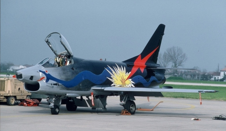 3 - Fiat G91Y - 8° Stormo - 101° Gruppo - Ultimo Volo Operativo - 25 novembre 1994