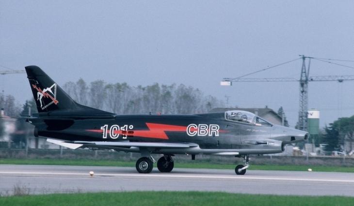 4 - Fiat G91Y - 8° Stormo - 101° Gruppo - Ultimo Volo Operativo - 25 novembre 1994