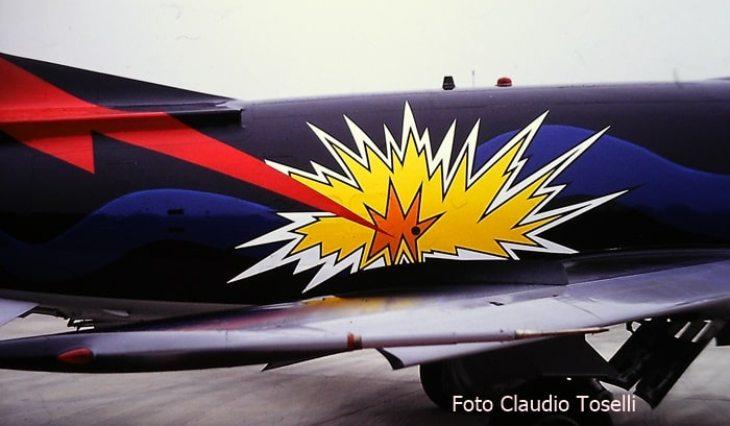 16 - Fiat G91Y - 8° Stormo - 101° Gruppo - Ultimo Volo Operativo - 25 novembre 1994