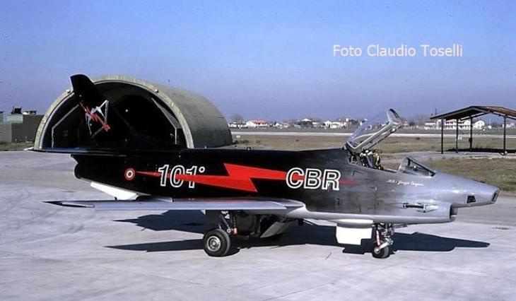 15 - Fiat G91Y - 8° Stormo - 101° Gruppo - Ultimo Volo Operativo - 25 novembre 1994