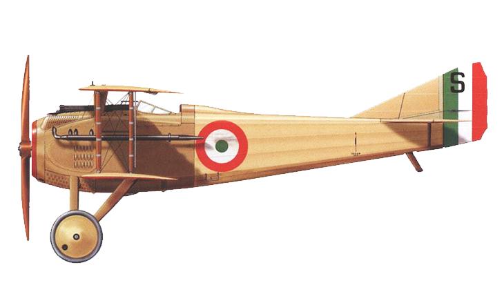 SPAD S.VII - Luigi Olivari
