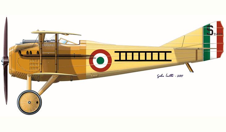 SPAD S.VII - Giovanni Sabelli