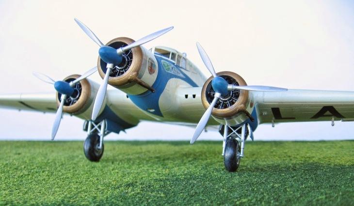 4 - Modello in 1/72 del Savoia Marchetti S.M.79 - Ala Littoria -Realizzazione e foto di Gabriel Stern