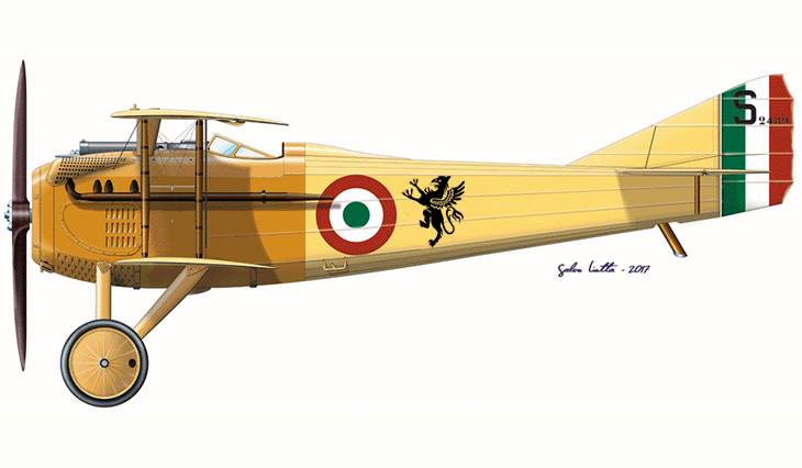 SPAD S.VII - Maggiore Pier Ruggero Piccio