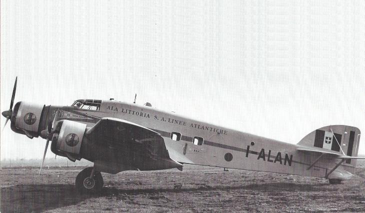 Savoia Marchetti S.M.79 - I-ALAN