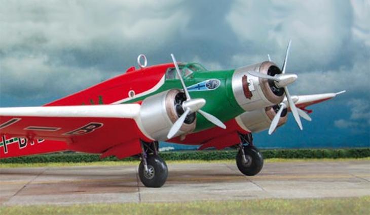 Savoia Marchetti S.79T - I-BISE - Conversione dal kit Italeri - Modello e foto di Jürgen Petersen