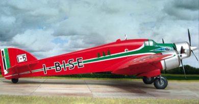 Conversione dal kit Italeri del Savoia Marchetti S.79T - I-BISE - Modello e foto di Jürgen Petersen