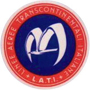 Logo L.A.T.I. (Linee Aeree Transcontinentali Italiane )