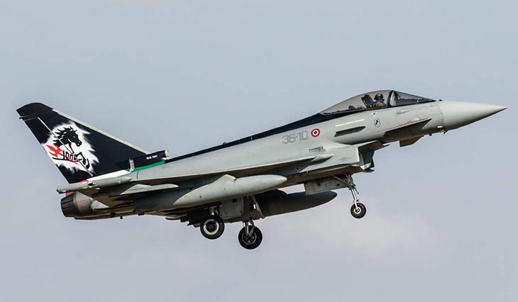 Eurofighter Typhoon - 36° Stormo - 10° Gruppo - 91^ Squadriglia Caccia - Gioia del Colle - 2017