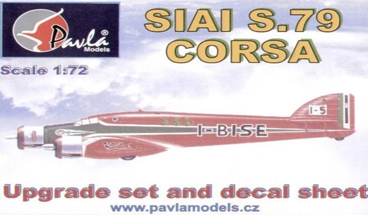 Kit di conversione Pavla - PAVU72058 - Savoia Marchetti S79C/T - Corsa e Transatlantico