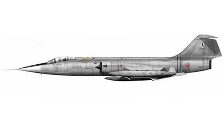 Lockheed F-104S/ASAM - 9° Stormo - 10^ Gruppo - 91^ Squadriglia - Grazzanise - 2004