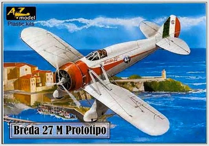 Breda 27 M - Prototipo - AZ-models in 1/72