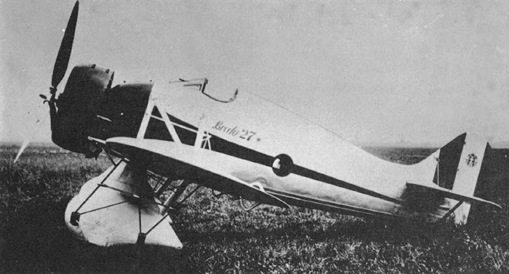 Prototipo del Breda Ba.27 M - 1934