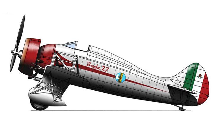 Breda Ba.27 M - Prototipo