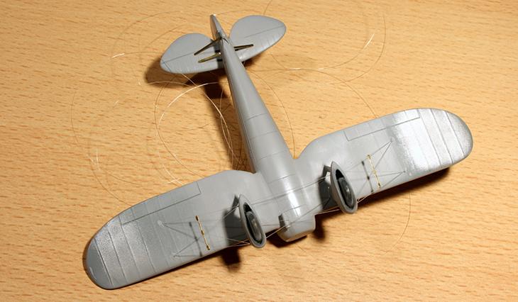 Modello del Breda Ba.27 M Prototipo - Az-Models - 1/72