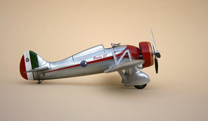 Breda Ba.27 M Prototipo - Az-Models - 1/72