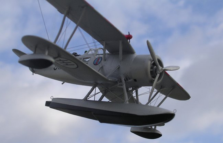 IMAM Ro-43 - Airmodel - 1/72 - Modello e foto di Carmel J. Attard
